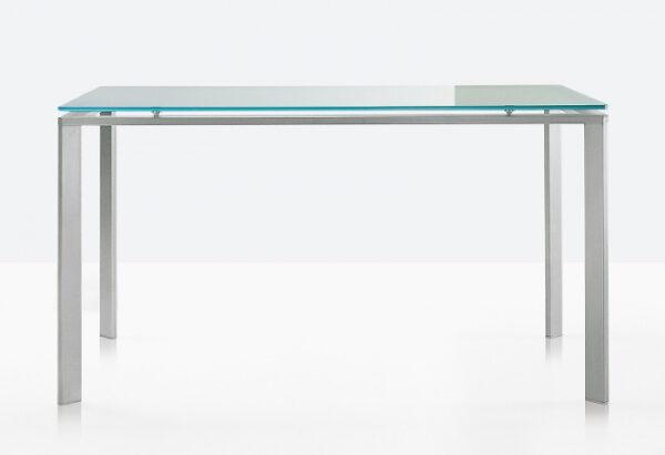 Mese cadru otel LOGICO TL glass