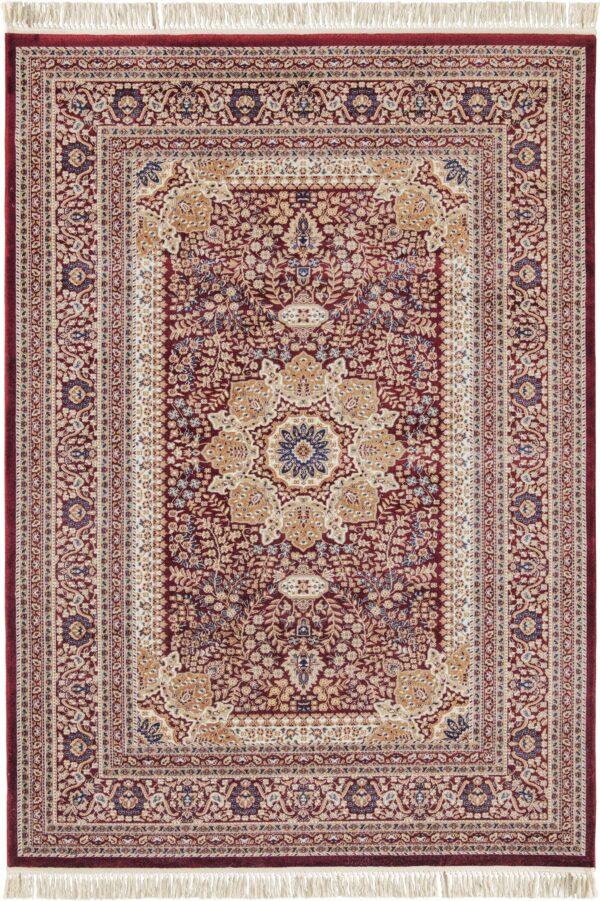 NOSTALJI-MODEL 1762A-CULOARE BORDO 160x230