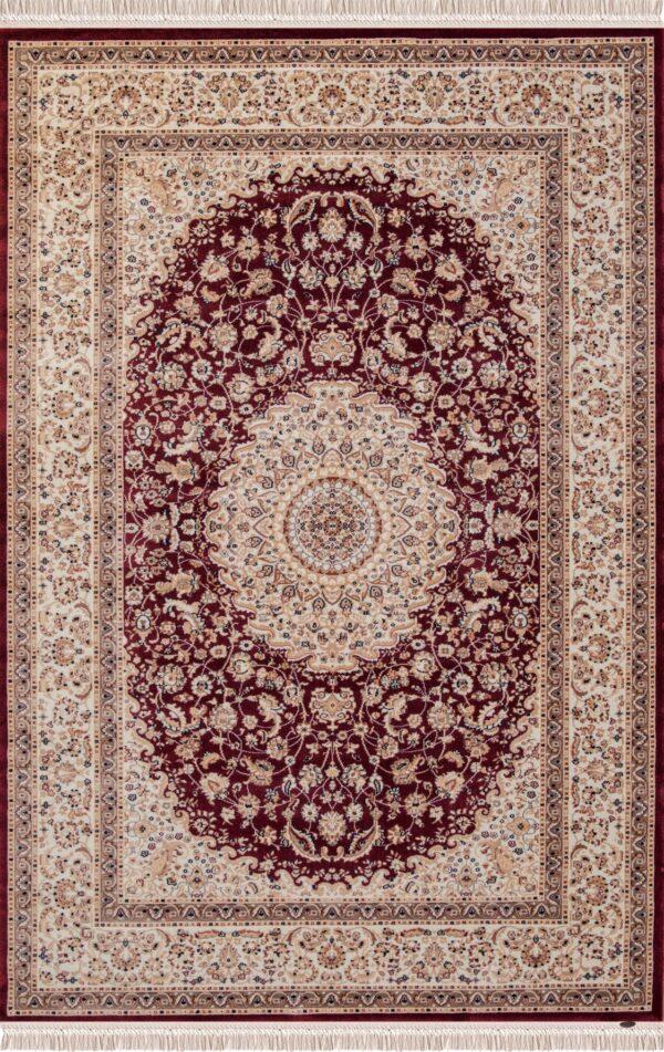 NOSTALJI-MODEL 1764A-CULOARE BORDO 100x200