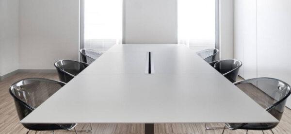 Mese conferinta office birou cu blat rectangular PLANO 4491