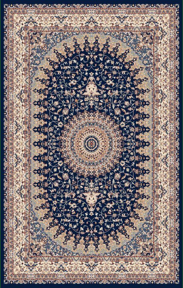 SEMERKAND- MODEL 3216A- CULOARE BLUE 120x180