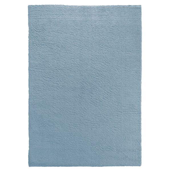 TIARA ECO-MODEL PLAIN-CULOARE BLUE 120x180