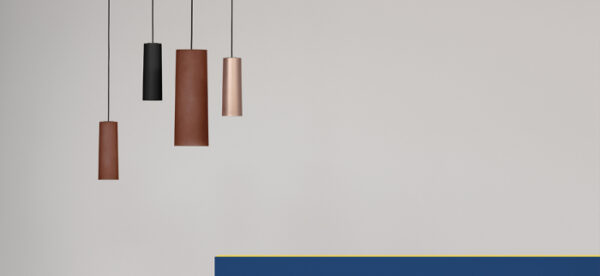 Lampa suspendata cu abajur din policarbonat L006SW/B