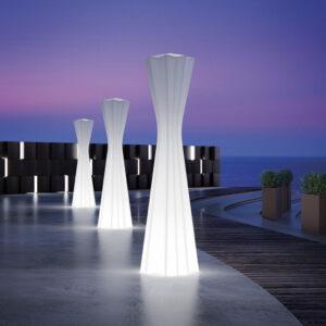 Lampi de podea din polietilena FROZEN LIGHT