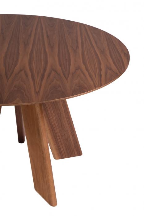 Mese lemn blat rotund ALHAMBRA 001 RA