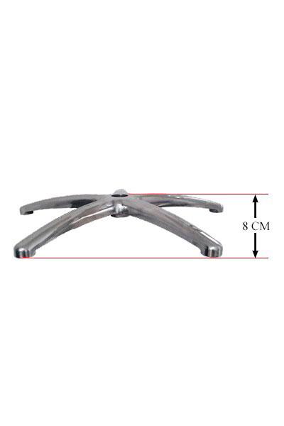 Baza stea metalica pentru scaune de birou rezistenta pana la 150 kg