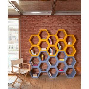 Biblioteci modulare polietilena HEXA