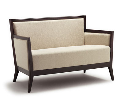 Canapea tapitata structura lemn fag Blios 2180 DI