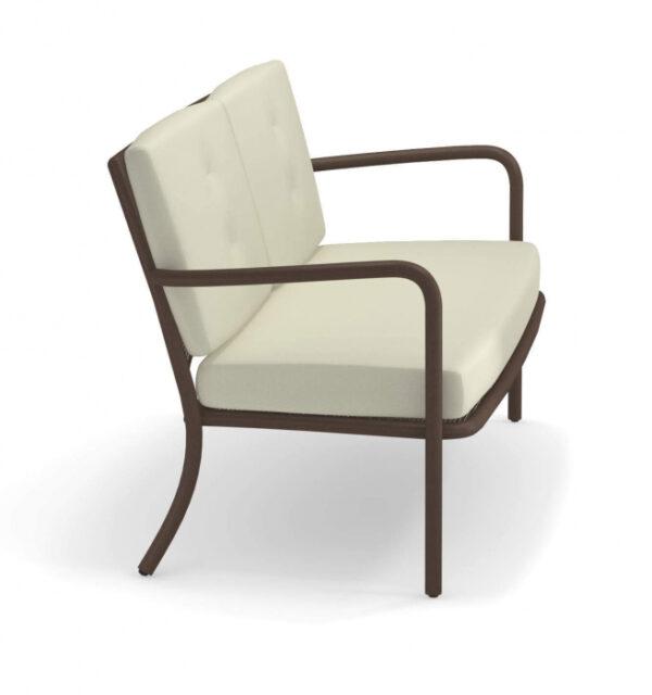 Canapele exterior 2 locuri cadru metal cu perne tapitate ATHENA
