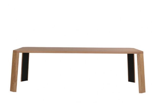 Mese din lemn detaliu metalic O-RIZON 001
