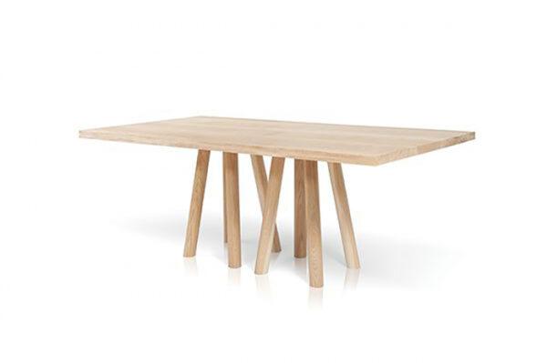 Mese din lemn baza cu 8 picioare MOS-I-KO 001 B