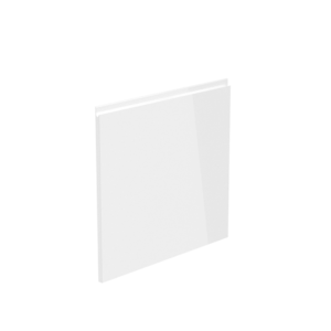 Uşă la maşina de spălat vase, alb luciu extra ridicat HG, 59,6x57, AURORA