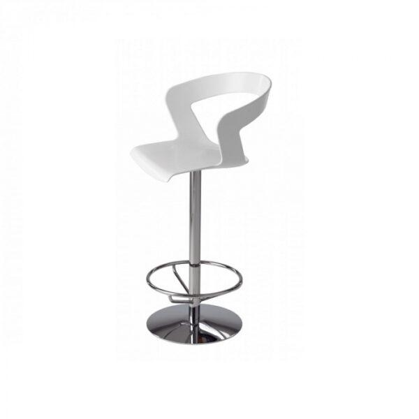 Scaune rotative inalte de bar picior metalic IBIS 303