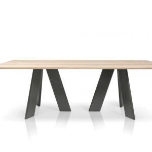 Mese din lemn baza cu 6 picioare ALHAMBRA 002 A
