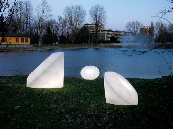 Lampi de podea polietilena BIJOUX