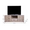 Măsuţă TV/dulap tip 13, stejar sonoma, GRAND