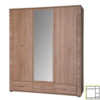 Dulap cu oglindă tip 2, stejar sonoma, GRAND