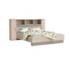 Dormitor complet, stejar arizona/gri , GRAPHIC