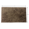 Covor 170x240 cm, maro, GARSON