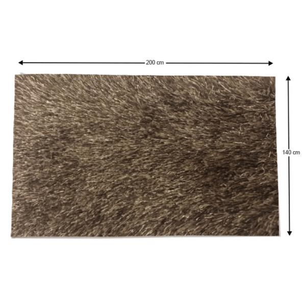 Covor 140x200 cm, maro, GARSON