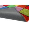 Covor, roşu/verde/galben/violet, 170x240, LUDVIG TYP 4