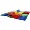 Covor, roşu/verde/galben/violet, 200x300, LUDVIG TYP 4