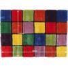Covor, roşu/verde/galben/violet, 120x180, LUDVIG TYP 4