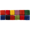 Covor, roşu/verde/galben/violet, 70x210, LUDVIG TYP 4