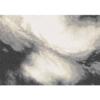 Covor 133x190 cm, alb/maro/negru, TOCAR