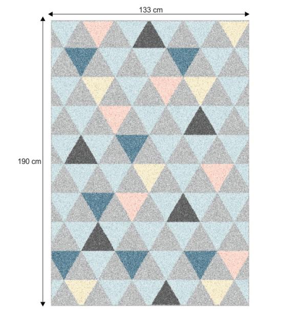 Covor 133x190 cm, multicolor, PETAL