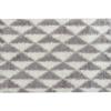 Covor 133x190 cm, crem/gri, PIXEL