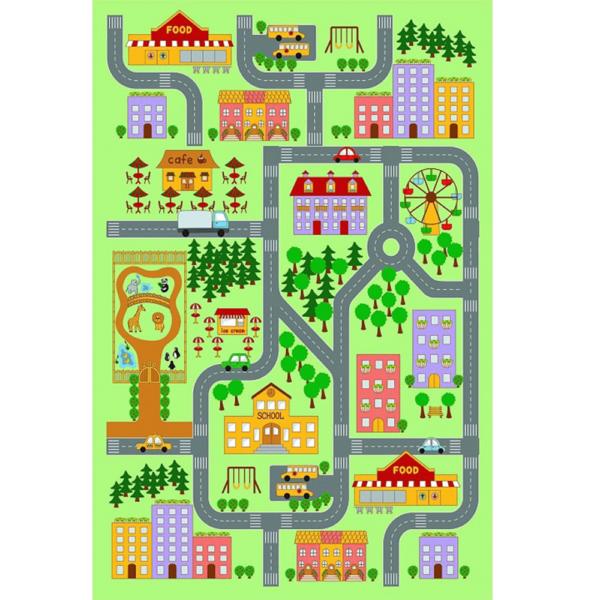 Covor, multicolor, 100x150, EBEL