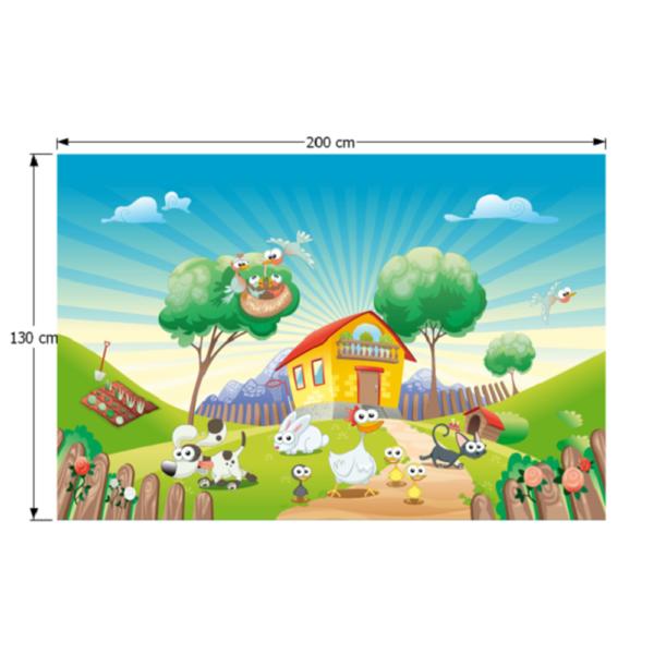Covor, multicolor, 200x130, JENNY