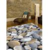 Covor, multicolor, model piatră, 80x200, BESS