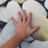 Covor 160x230 cm, model pietre, multicolor, BESS