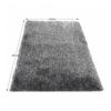 Covor 200x300 cm, crem/negru, VILAN