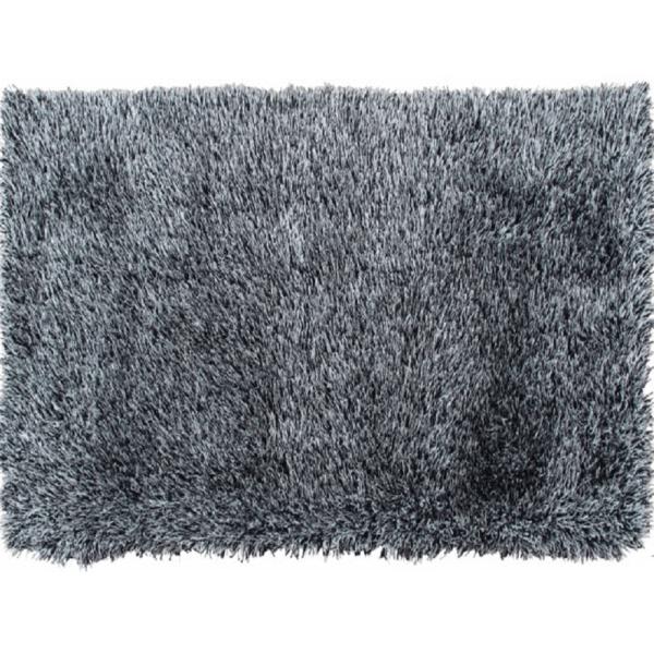 Covor 140x200 cm, crem/negru, VILAN