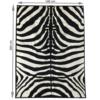 Covor 140x200 cm, model zebră, ARWEN