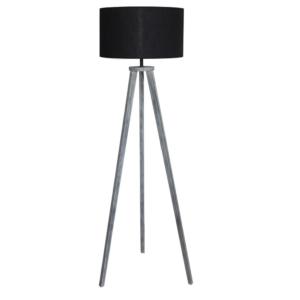 Lampă de podea, negru/gri, JADE TYP 10 6034-41B