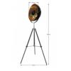 Lampă de podea, negru/auriu, JADE TYP 6 8008-18A