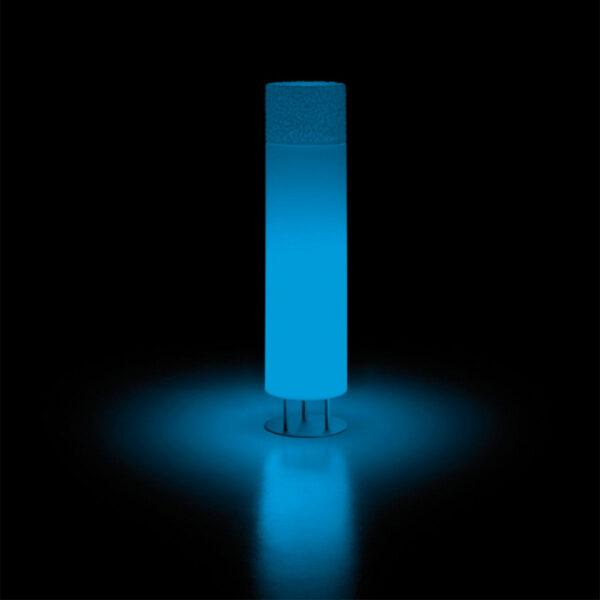 Lampi de podea din polietilena ICE-CAP