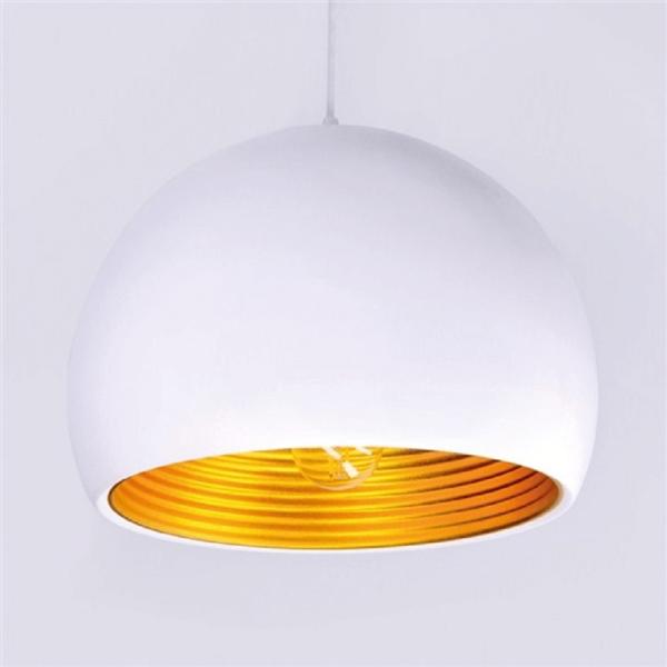 Candelabru metalic Venezia gold w012- albă/auriu