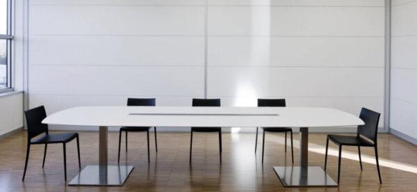 Mese conferinta office birou cu blat oval PLANO 4431