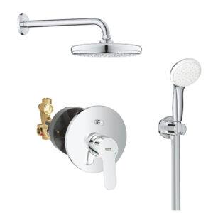 Sistem dus montaj incastrat Grohe Bauedge Perfect Shower,corp incastrat inclus