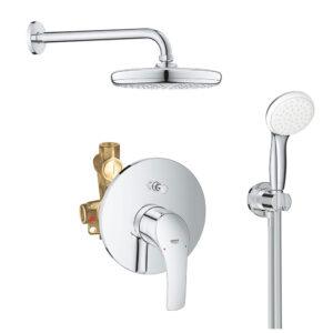 Sistem dus montaj incastrat Grohe Eurosmart New Perfect Shower,corp incastrat inclus