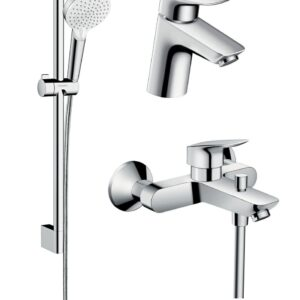 Set complet baterii baie cada Hansgrohe Logis70(71070000,71400000,26532400)