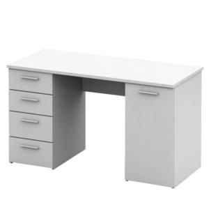 Masă birou albă, EUSTACH