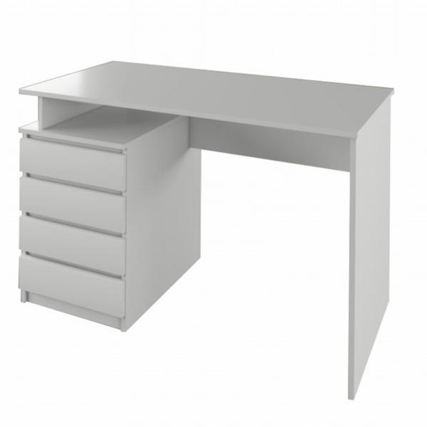 Masă PC, albă, HANY