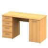 Masă birou, fag, EUSTACH