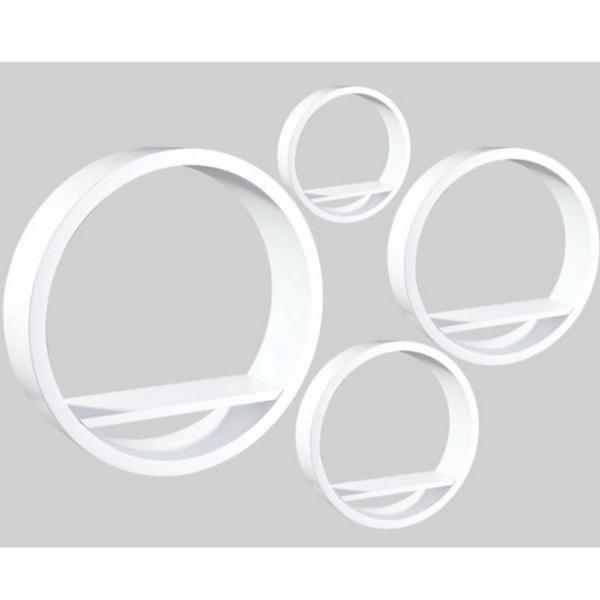 Raft, alb, 4 buc, EMA FY 8212